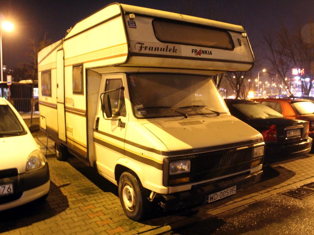 Fiat Ducato Frankia camper