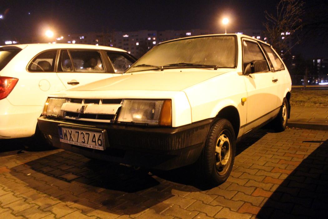 Łada Samara 3d