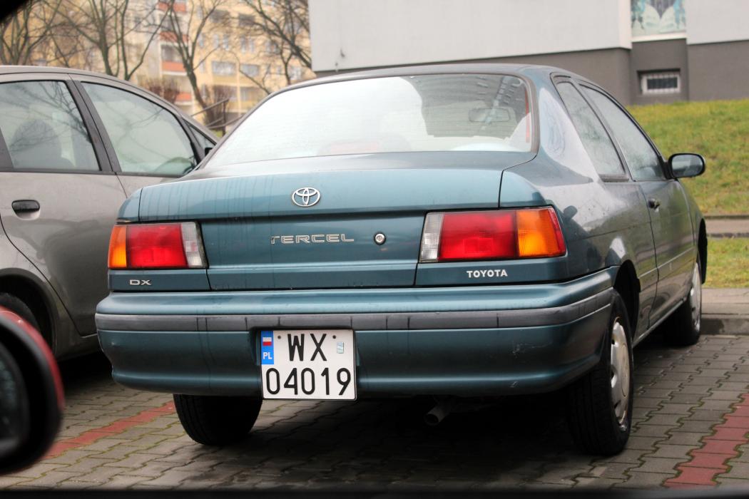 Toyota Tercel 2d