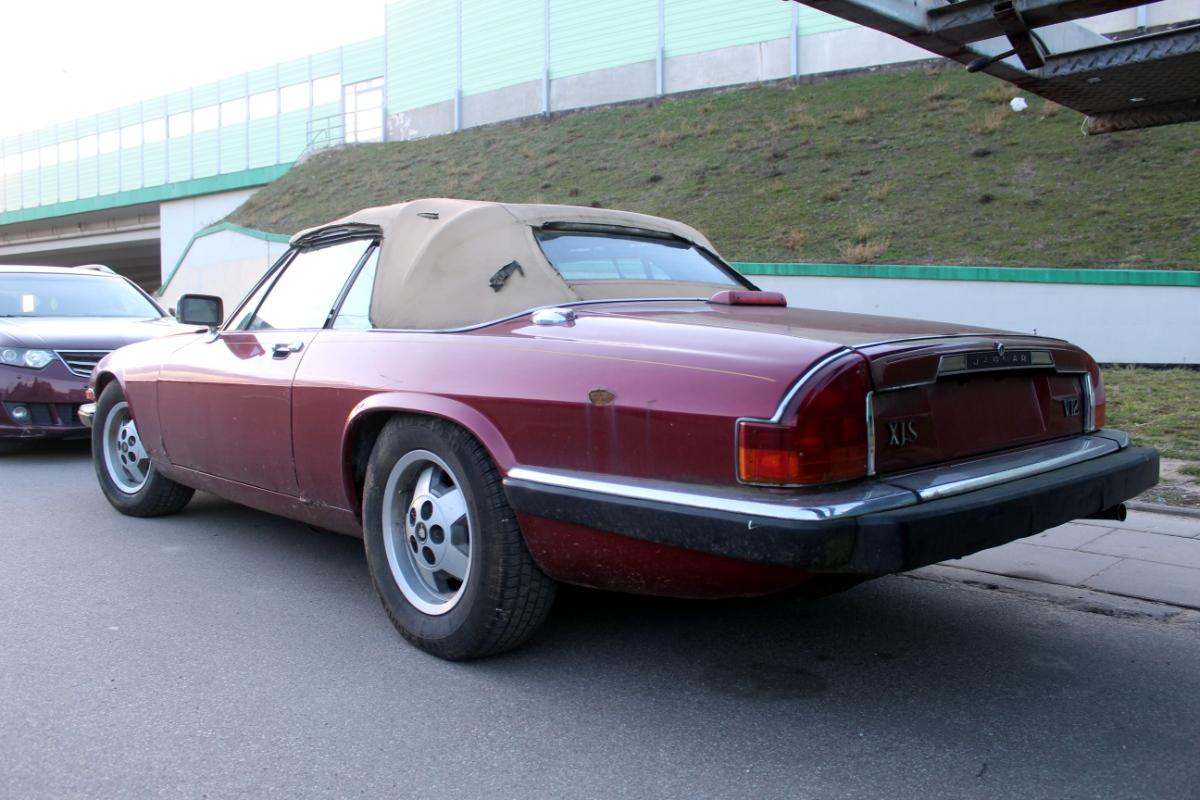 Jaguar XJ-S V12 cabrio
