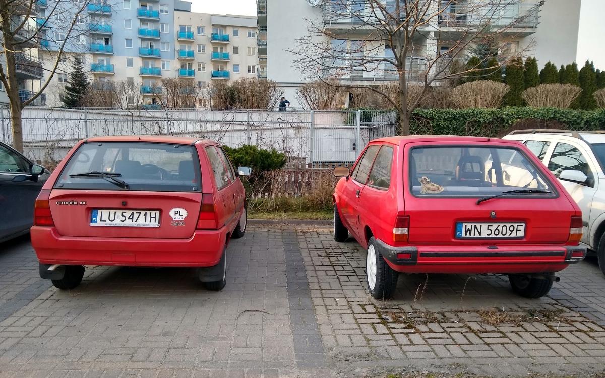 Citroen AX i Ford Fiesta II