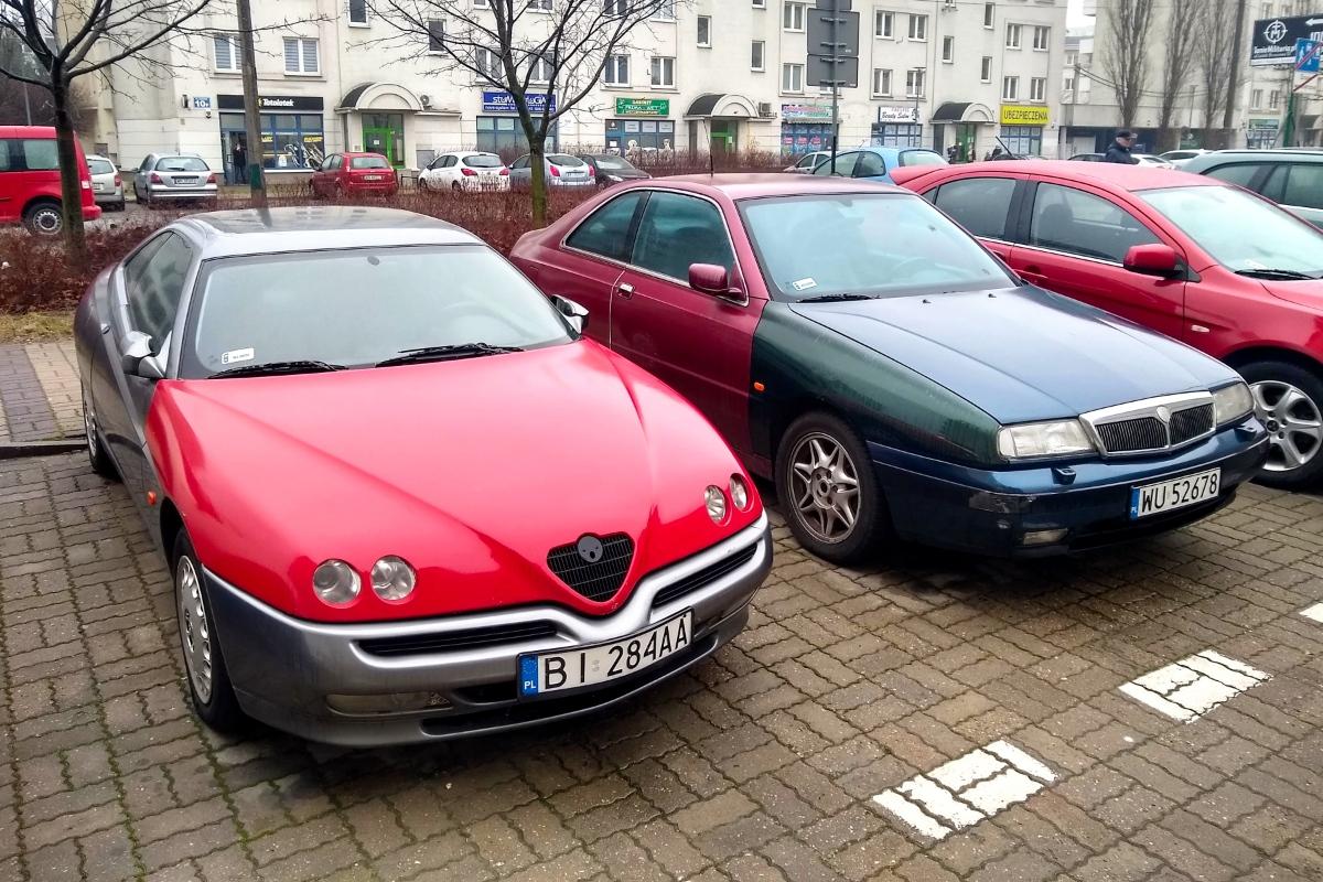 Alfa GTV i Lancia Kappa