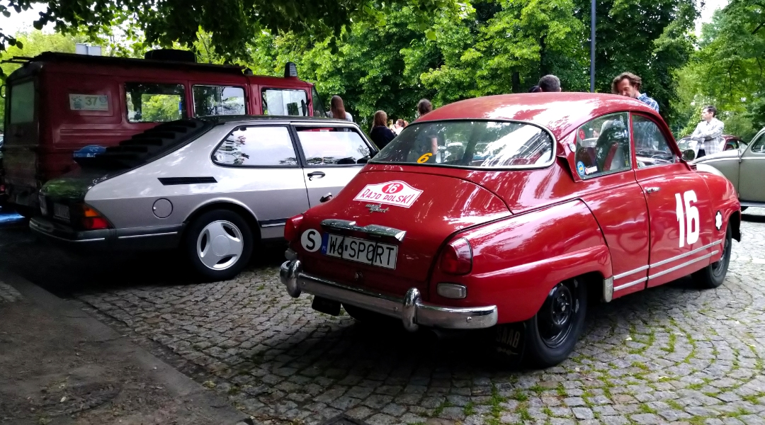Saab 900, Saab 96