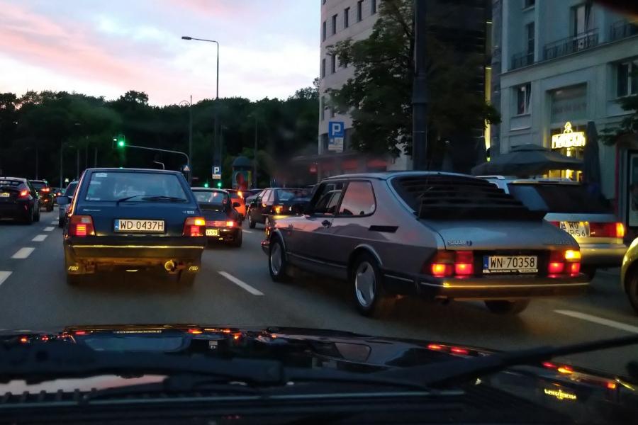 Saab 900 i Polonez