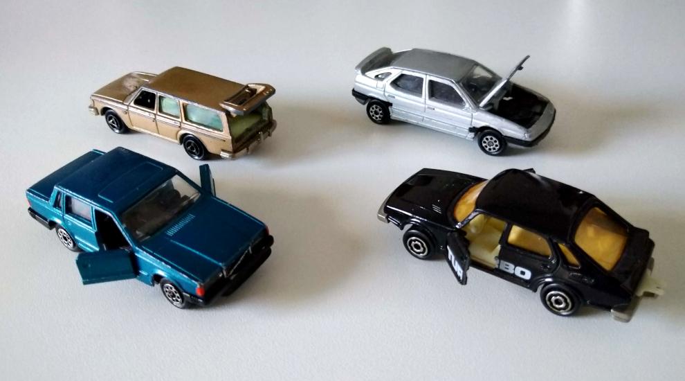 Majorette - Volvo 245 i 760, Saab 900 i Citroen XM