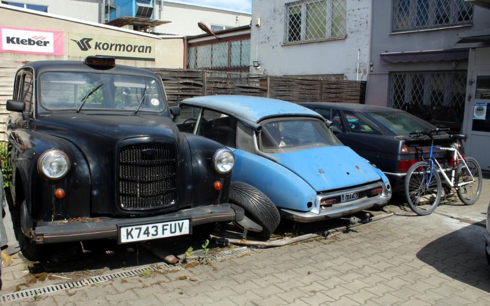 Austin FX4, Citroen DS i Citroen XM