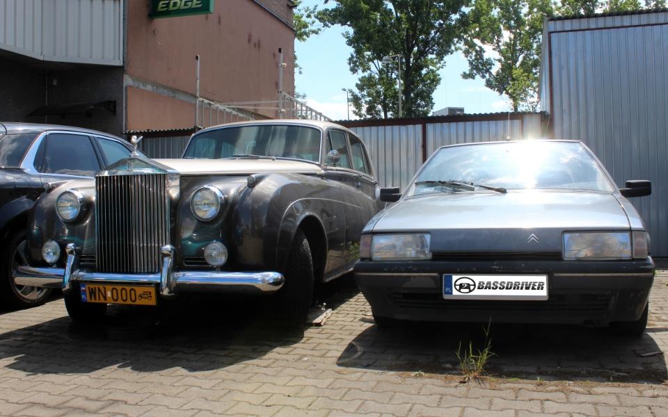 Rolls Royce i Citroen BX