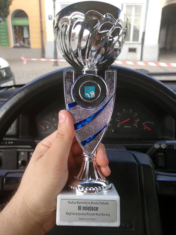 Puchar za III miejsce w Klasykach Nad Narwią 2019