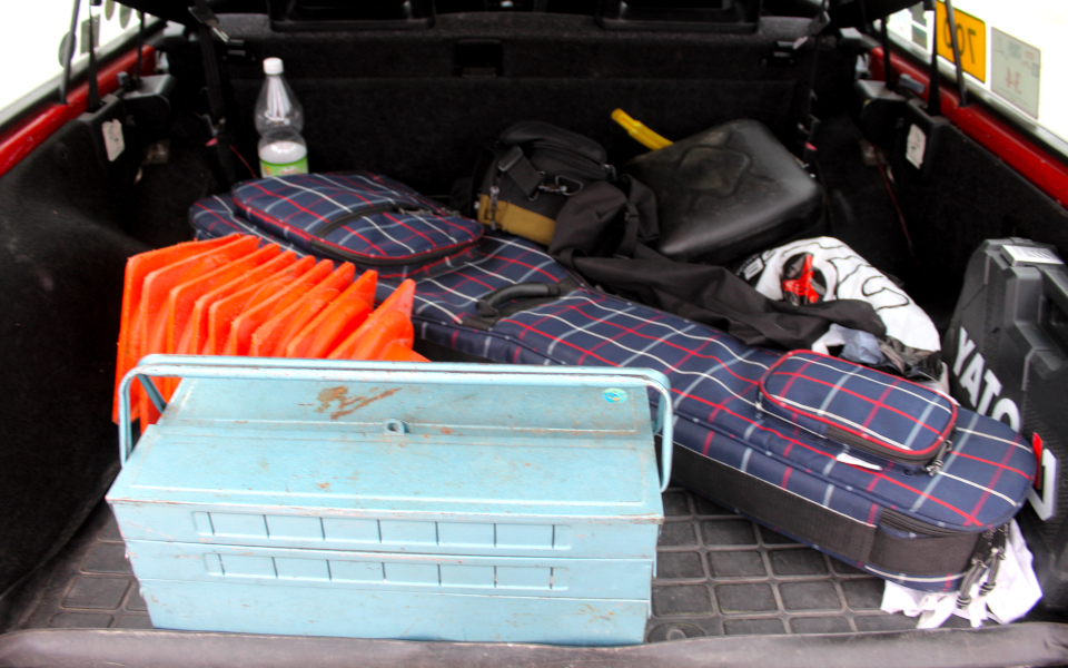 Bagażnik Volvo 245