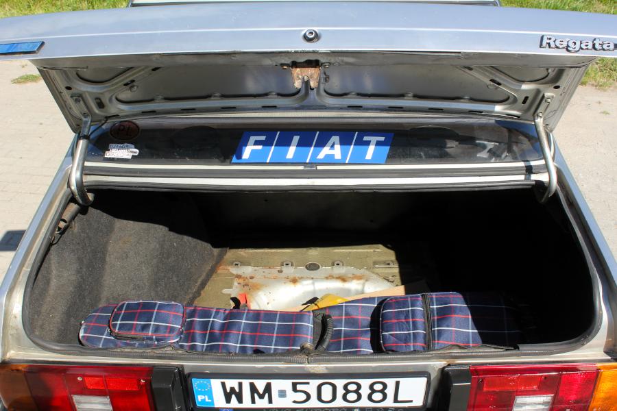 Fiat Regata - bagażnik