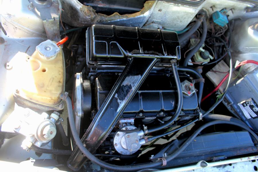 Fiat Regata - silnik Diesla 1.7