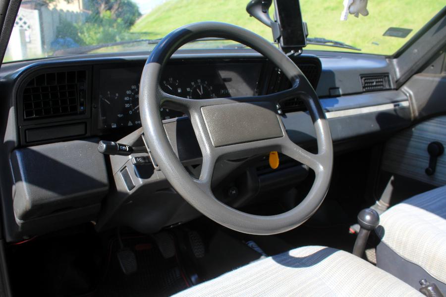 Fiat Regata przedlift - wnętrze
