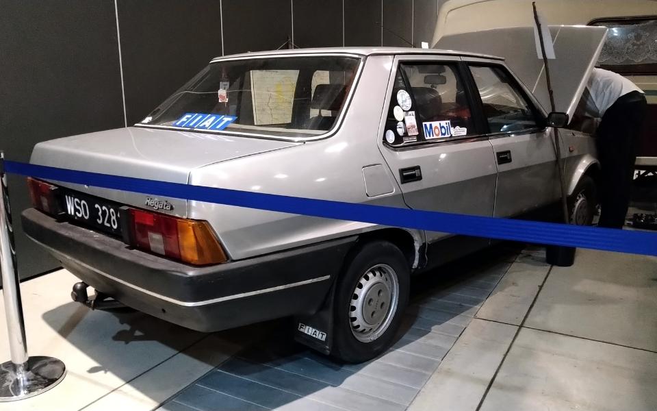 Auto Nostalgia 2020 - Fiat Regata