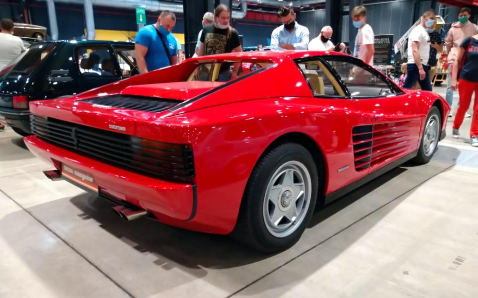 Auto Nostalgia 2020 - Ferrari Testarossa