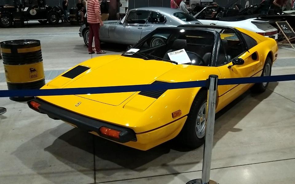Auto Nostalgia 2020 - Ferrari 308 GTS