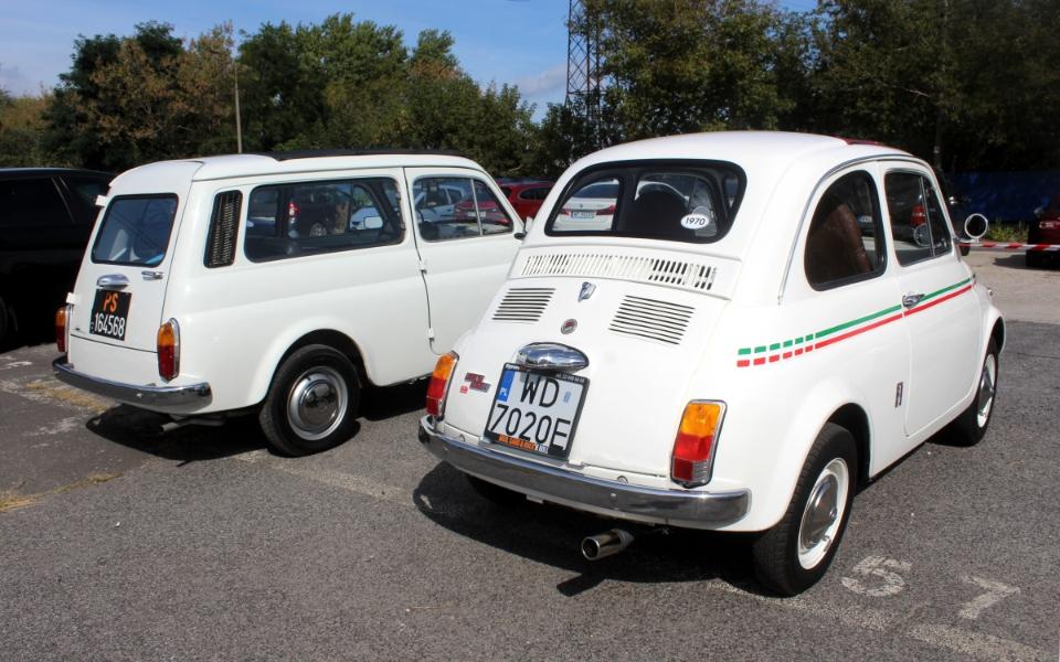 Auto Nostalgia 2020 - Fiat 500 i 500 Giardiniera