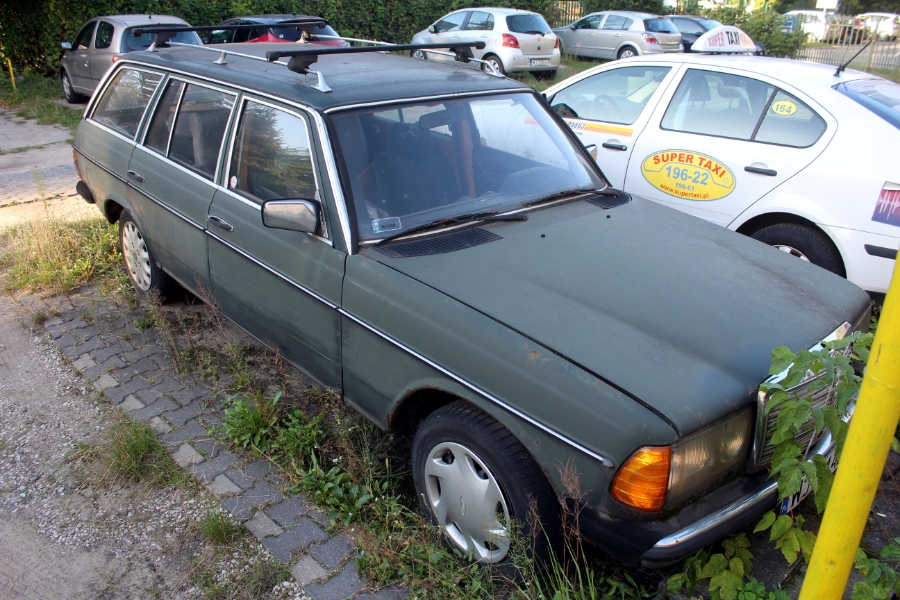 Mercedes S123