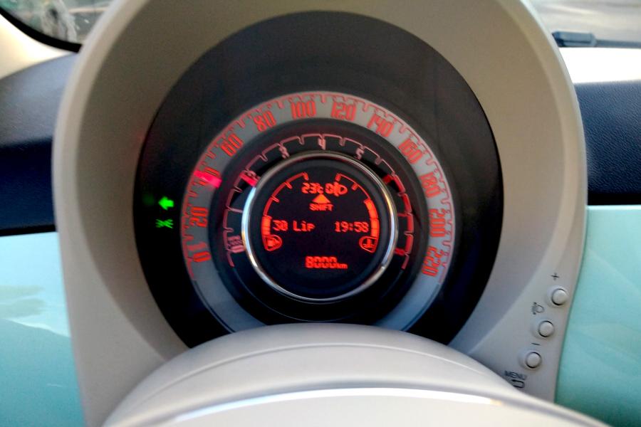 Fiat 500 - wskaźniki