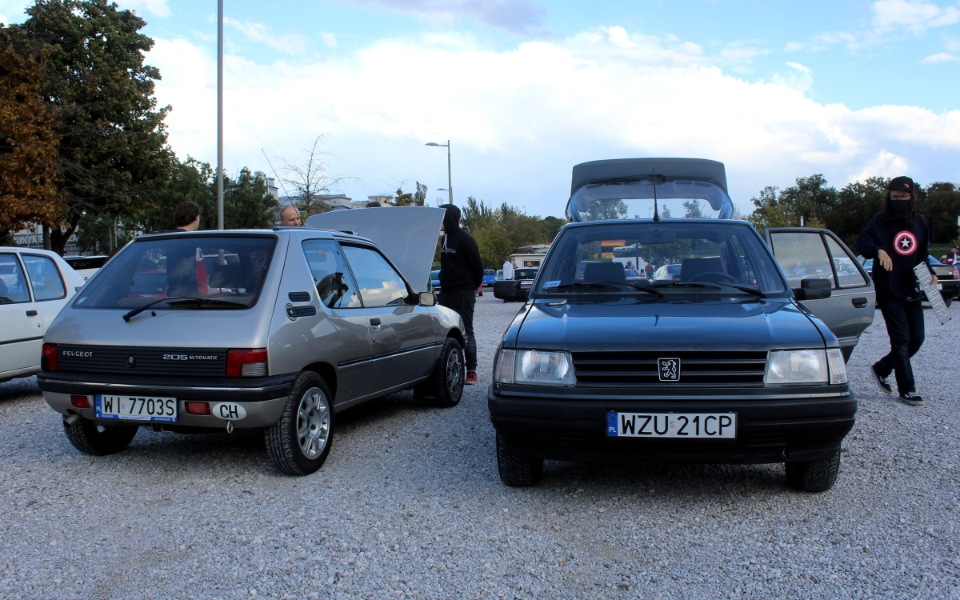 Ta Ostatnia Niedziela 2020 - Peugeot 205 i 309