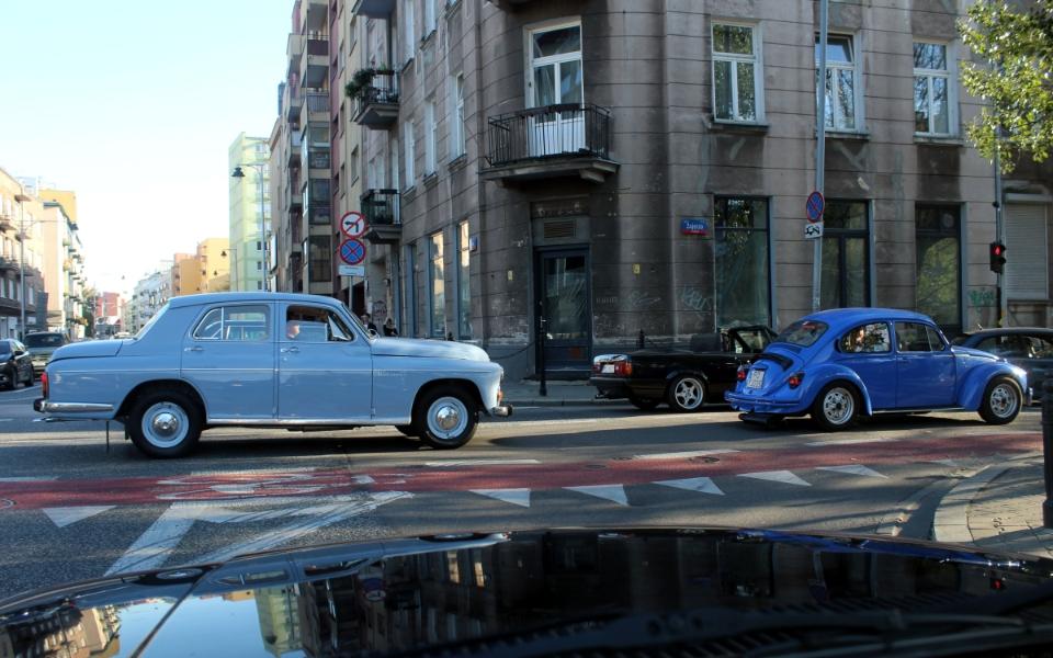 Ta Ostatnia Niedziela 2020 - Warszawa, Garbus i BMW E30 cabrio