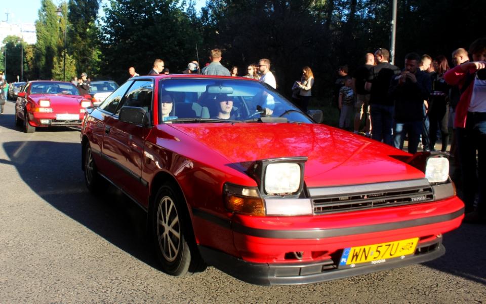 Ta Ostatnia Niedziela 2020 - Toyota Celica i Volvo 480