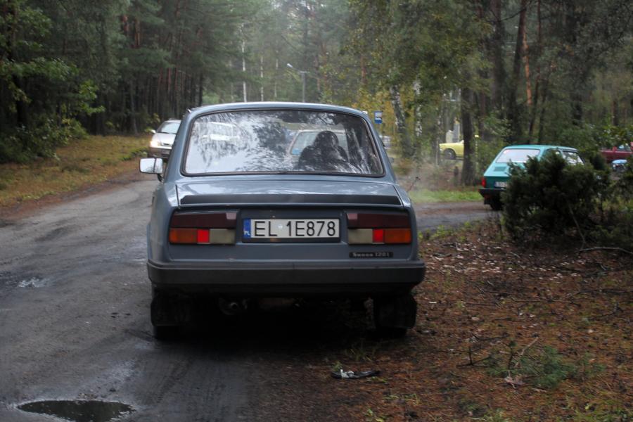Stary Pojazd i Może - Do Pełna: punkt kontroli przejazdu