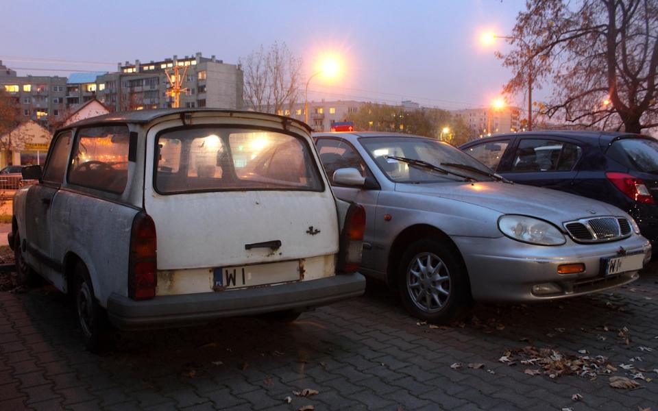 Trabant 1.1 kombi i Daewoo Leganza