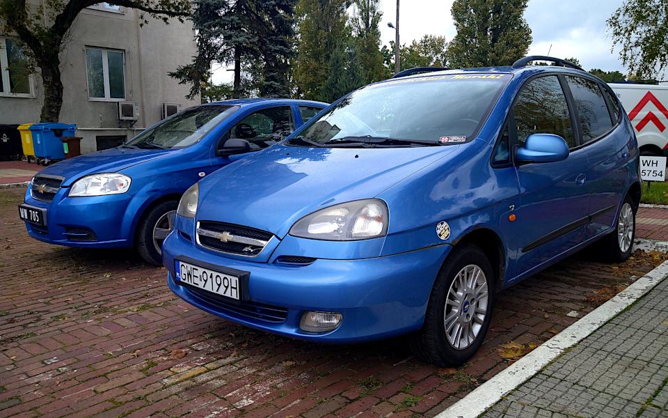 Chevrolet Tacuma i Aveo