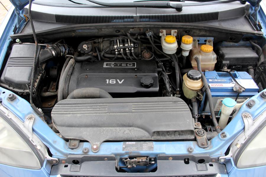 Chevrolet Tacuma - silnik 1.6