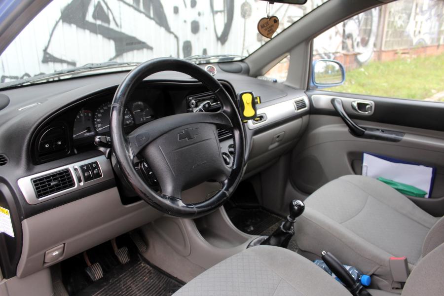 Chevrolet Tacuma - deska rozdzielcza