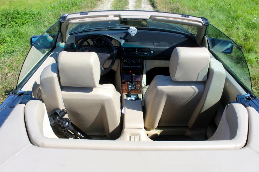 Mercedes 300 SL - wnętrze