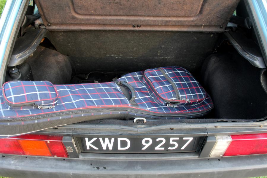 Seat Ronda - bagażnik