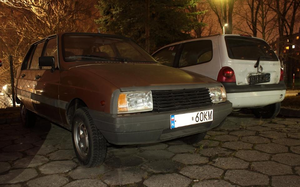 Citroen Visa i Renault Twingo