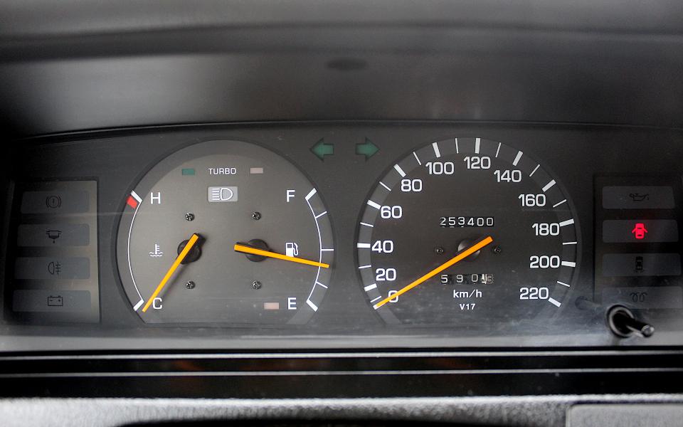 Toyota Camry V20 zestaw wskaźników