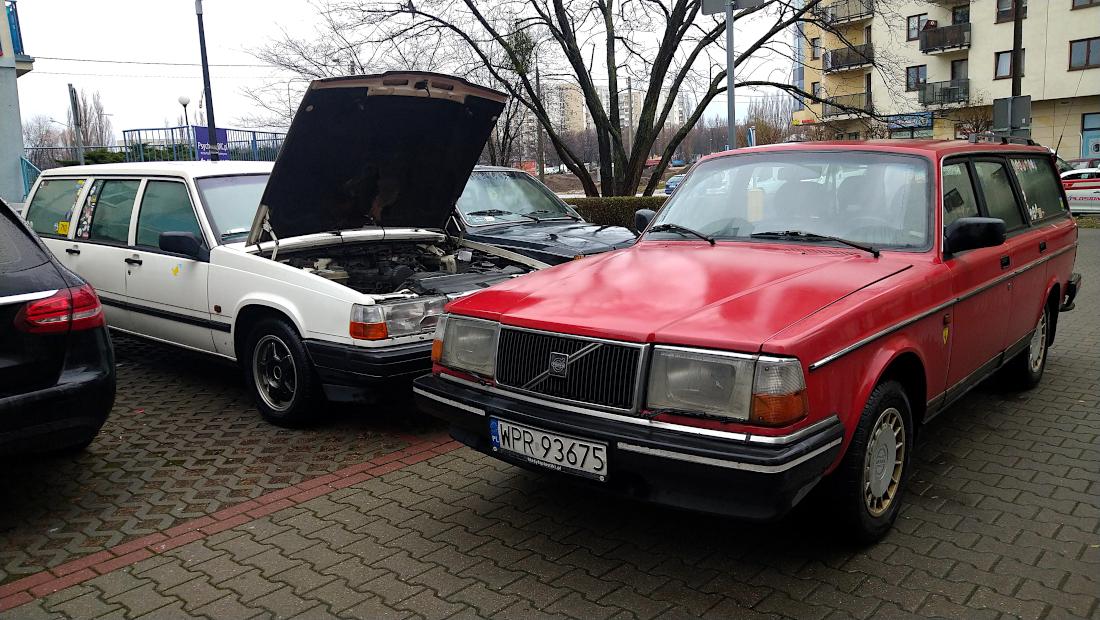 Volvo 940 i 240