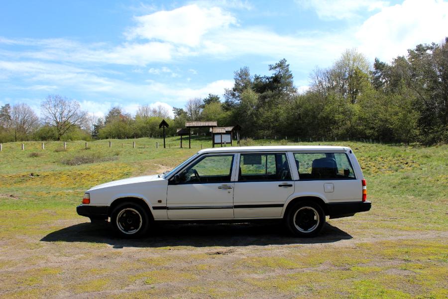 Volvo 940 na wyspie Wolin