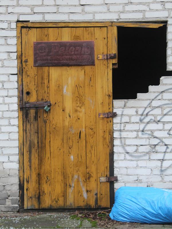 Choinka w Gracie 2021 - drzwi