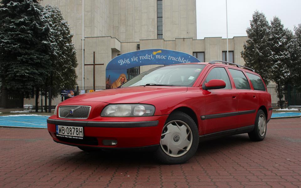 Choinka w Gracie 2021 - Volvo V70