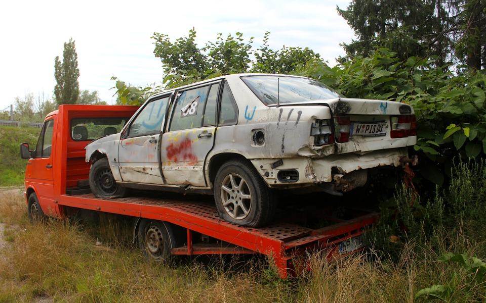 Volvo 940 Wrak Race