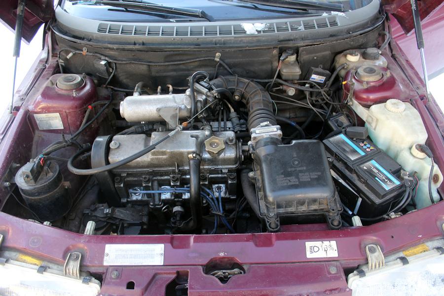 Łada 110 - silnik