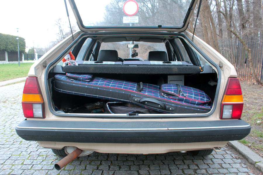 VW Passat B2 - bagażnik