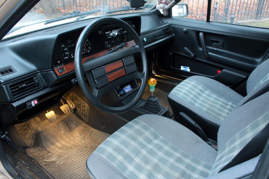 VW Passat B2 - wnętrze