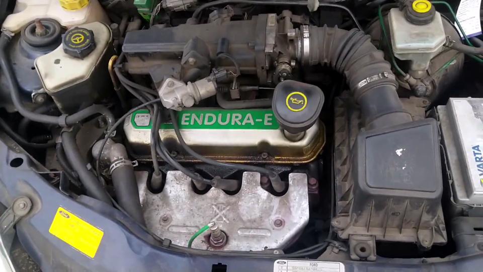 Ford Ka - silnik