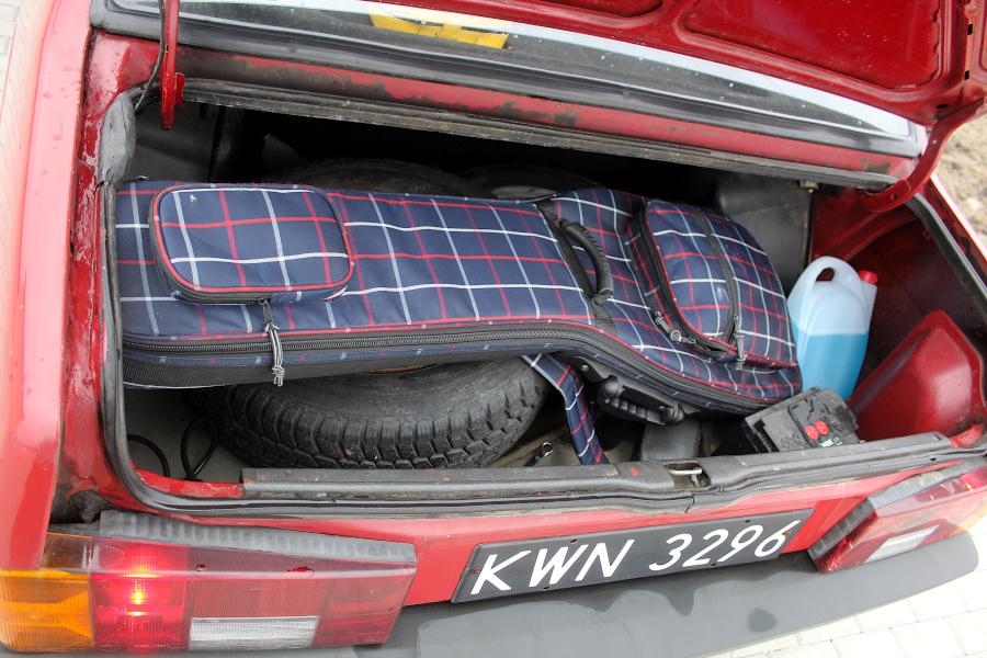 Łada Forma - bagażnik