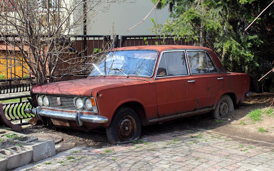 Jajeczko w Gracie - Fiat 125p