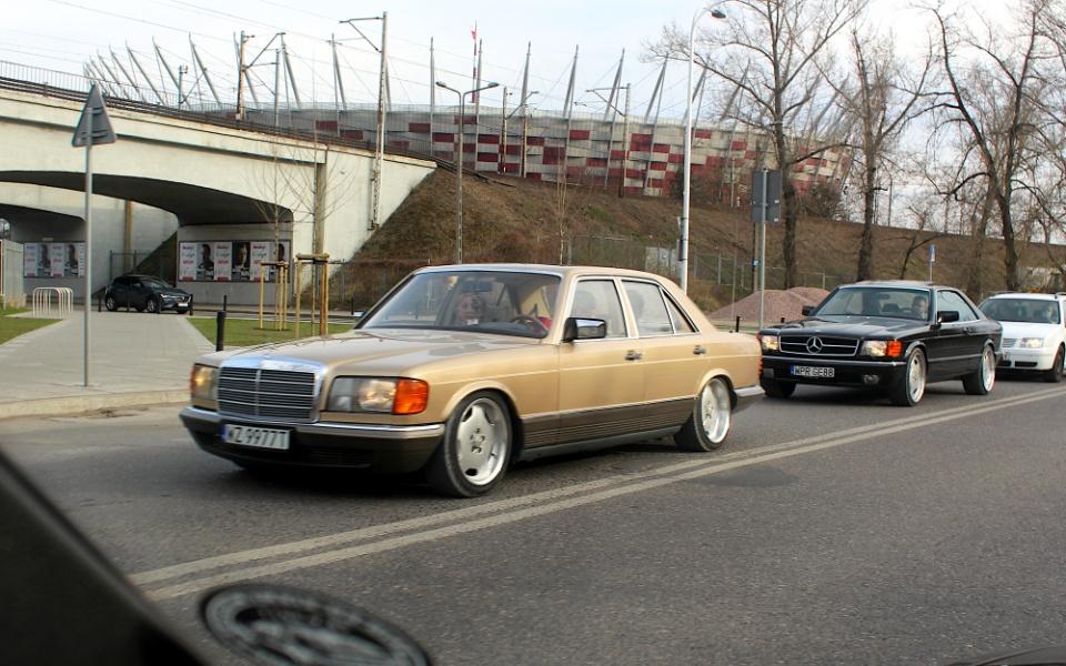 Mercedes W126 i C126