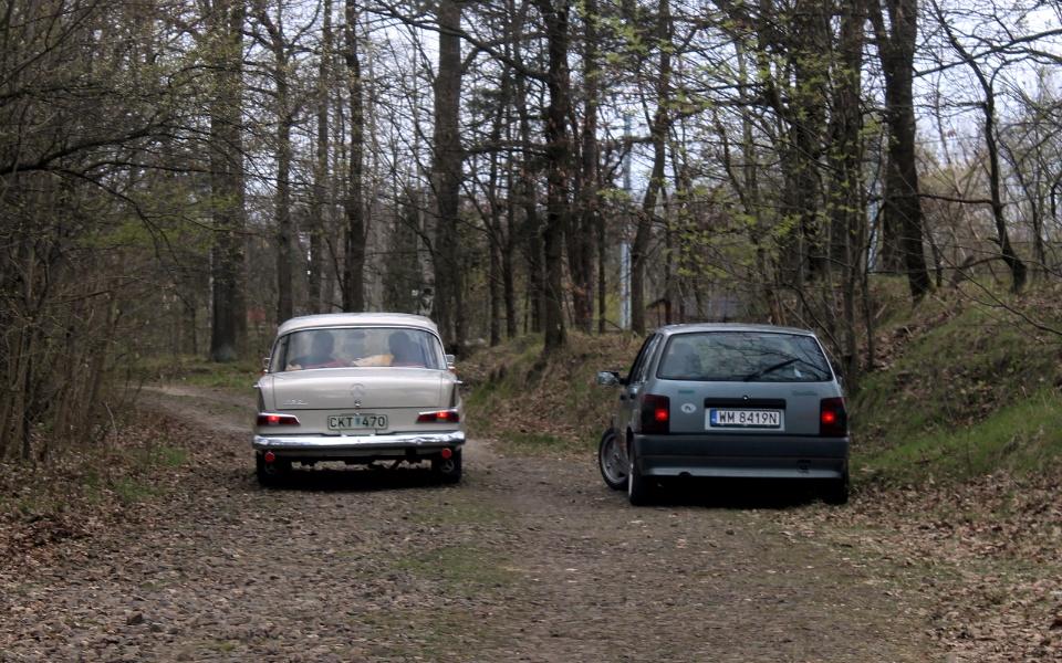 V Rajd Rembertowski - Mercedes W110 i Fiat Tipo