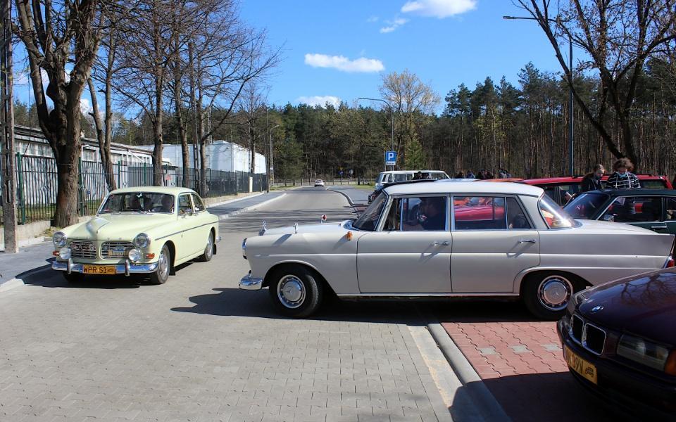 V Rajd Rembertowski - Volvo Amazon i Mercedes W110