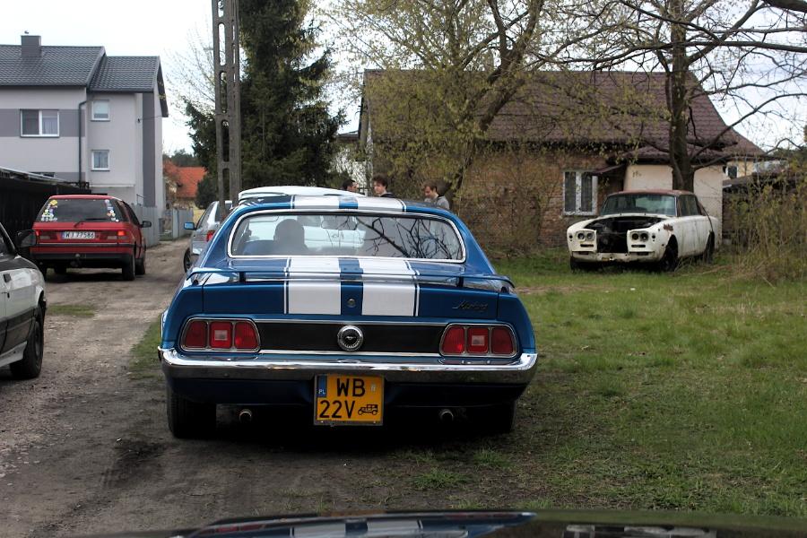 V Rajd Rembertowski - Mustang i Rolls