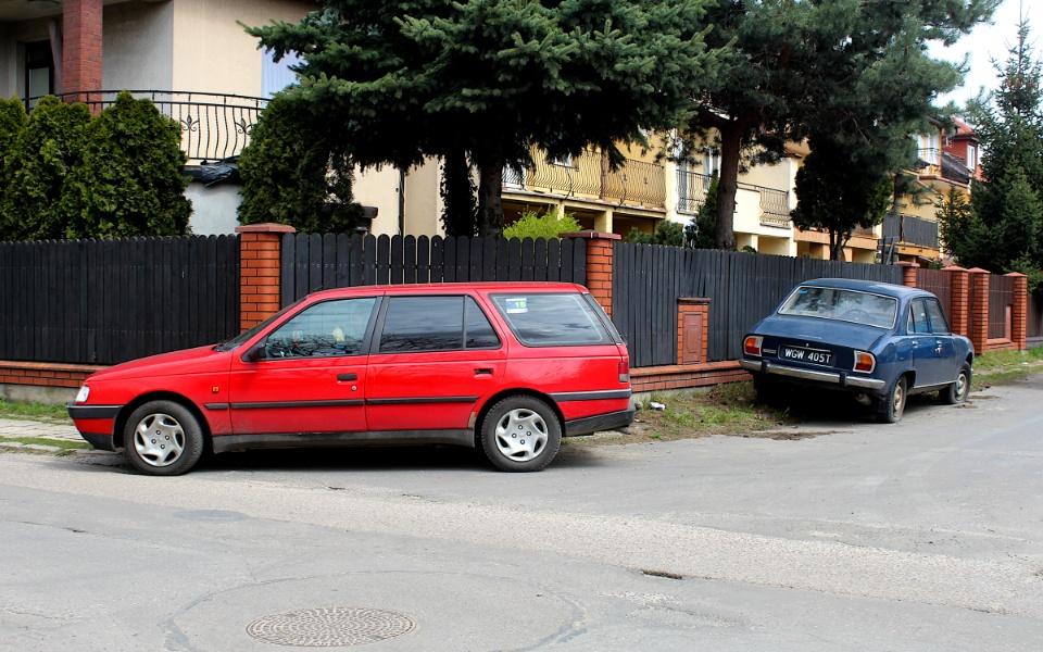 V Rajd Rembertowski - Peugeot 405 i 504